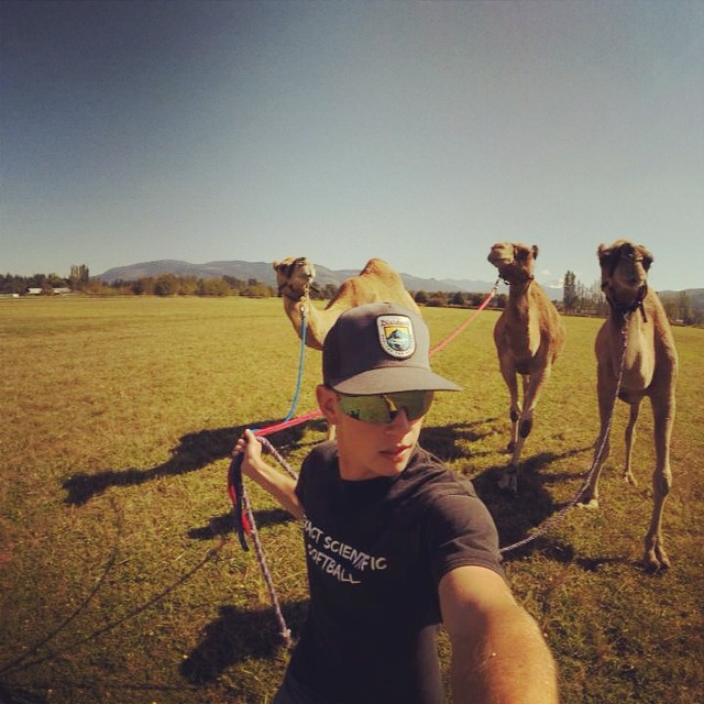Happy Monday! Camel wrangler Mike Jones doing work! Snag your Disidual explore snapback today at www.disidual.com #disidual #camels #explore #gopro