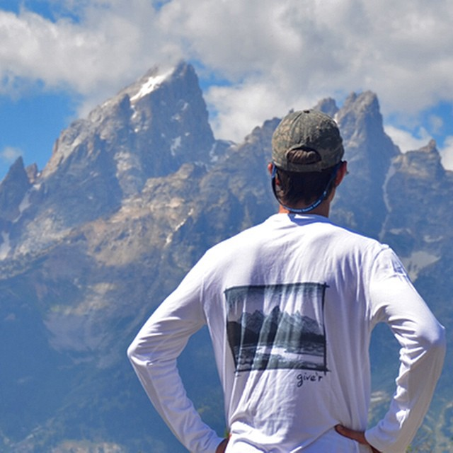 Our new BambooView long sleeve is now available!! Check it out at give-r.com to get your own. #bambootee #bamboo #jacksonhole #jhdreaming