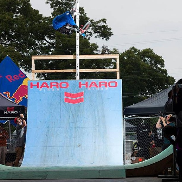 Squirrel was shredding the @harobmx veterans contest at #texastoast2013!