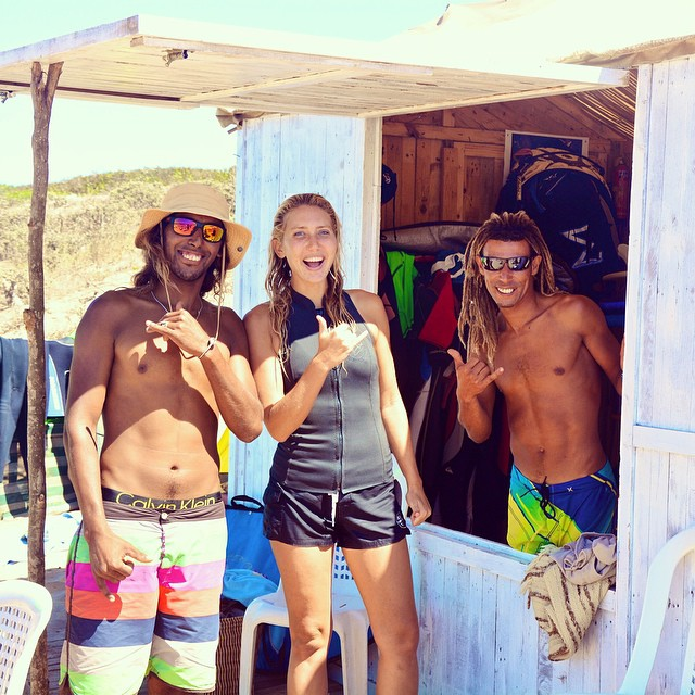 "Ya salam! يا سلام Beyond stoked to spend quality time with Mouja Surf Club in Dar Bouazza with local surf instructors Hsine and Zaouia along with their local crew of rockstar Moroccan groms from the surrounding ""neighborhoods"" on the the outskirts of..."