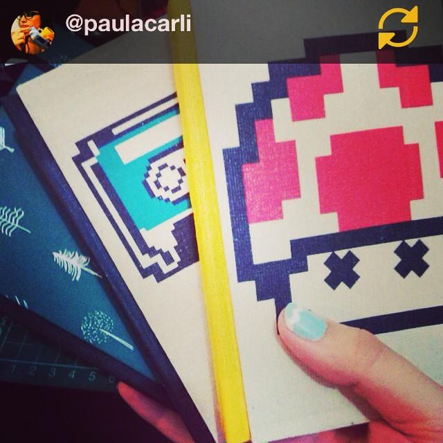 RG @paulacarli: Fresh new!! Tamaño A6! Con ilus de @urban_roach !! /////// Geniales @paulacarli