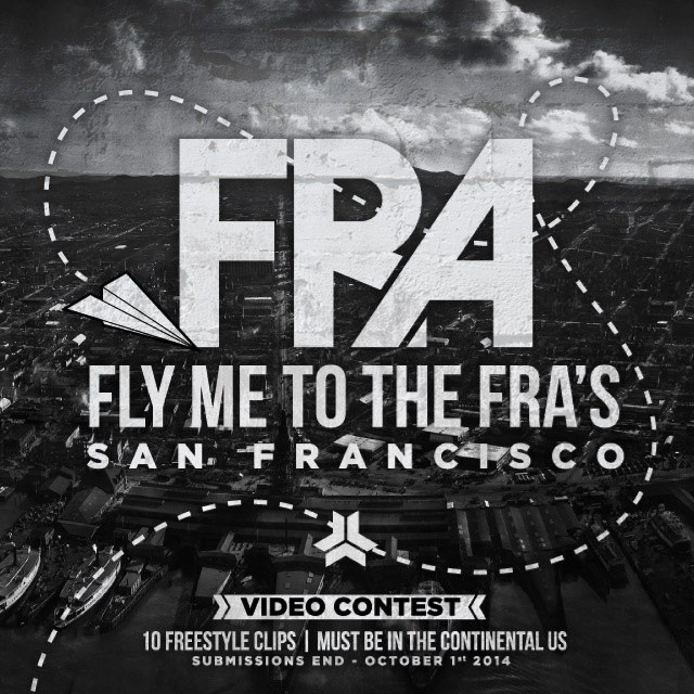 Wanna come to SF for the FRAs? Check out our blog for more info.