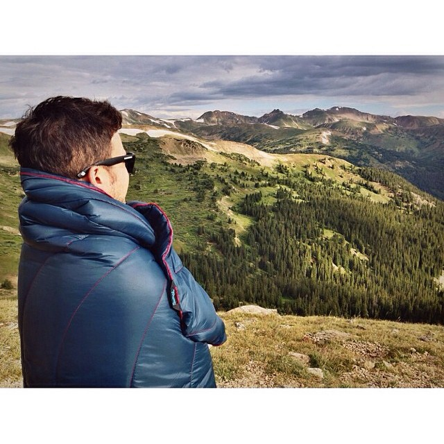 @leastworst surveys the Rockies mountains #Colorado #rockies #explore #mountains