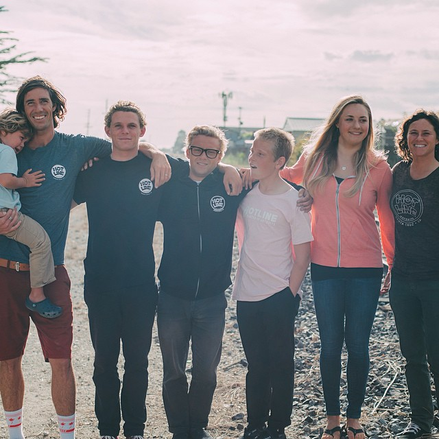 ~Our Sc team #HotlineFamily~ Photo @mollylouphoto #SantaCruz #California #Local