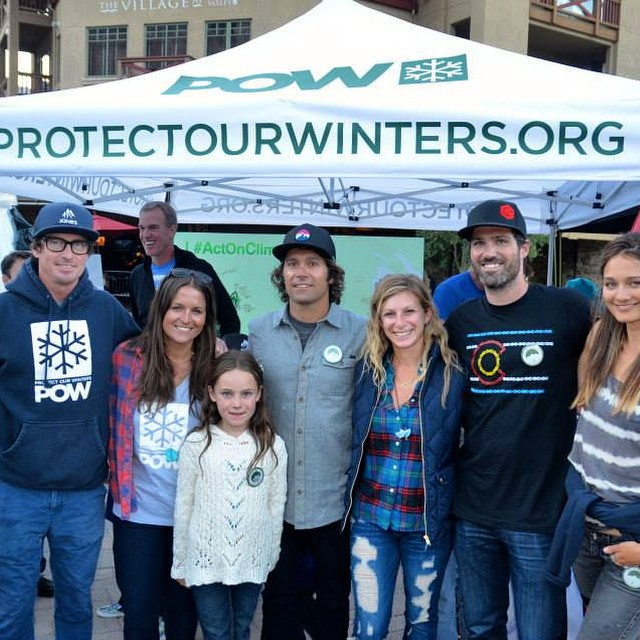 When we think of #GoodPeople this crew is what we have in mind @protectourwinters @barbaraaweber @meg_haywoodsullivan @chris_christenson73 @jonessnowboards - we all aspire to Go Big & Do Good and always aspire to do more // Some words of wisdom that we...