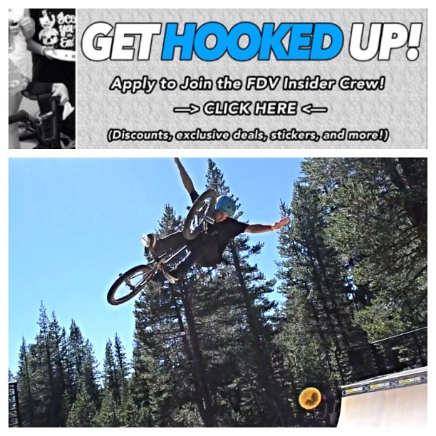Get hooked up. Apply today at www.fdvclothing.com! Open to all sports! #bmx #motocross #actionsports #fdvclothing Rider: @robbiedecelle