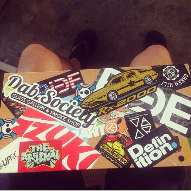 Skate or Die! #skateboard #deck #decals #thrasher #boombotix