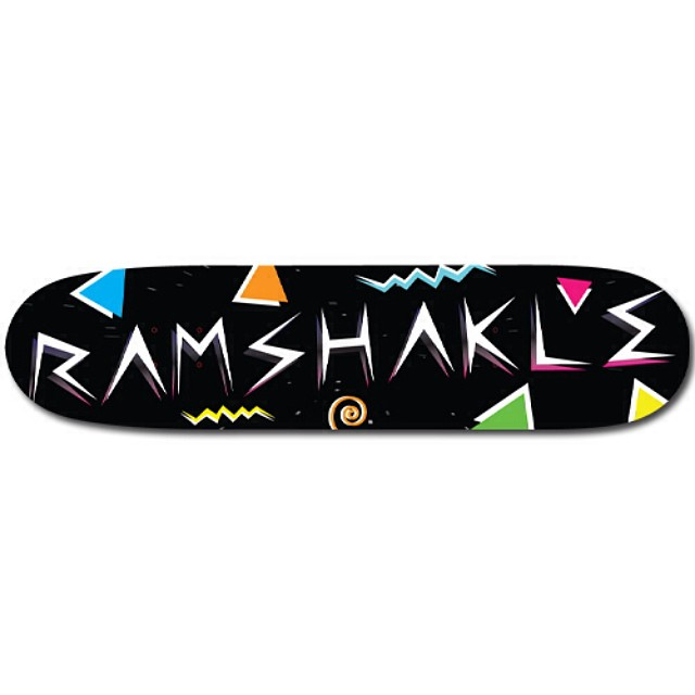 """""""Saved by the shakle"""" boards now available through @surplusskate distribution or any good skateshop!"""