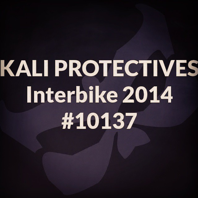 Let's do this! #kaliprotectives #interbike #10137