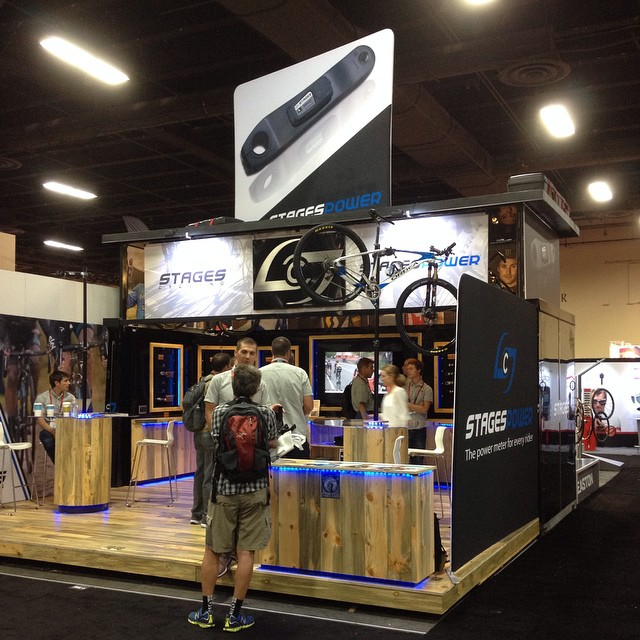 If you are @interbike come visit @stagescycling  booth #12029. Check out the latest in power meter tech and the new booth.
