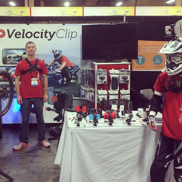 We are all set up at #Interbike at #MandalayBay in booth 9013. #lasvegas