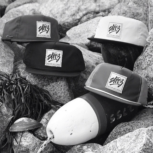 Rad new nylon buoy hats dropped on the steez site today from partner @pukkainc get em quick just $20, 4 colors to choose from. #nylonhat #buoy #steez #steezmagazine #canvaspatch