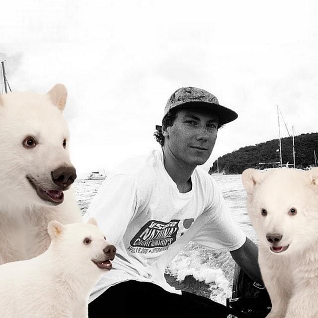 Triple Polar Bears for Max Elles || #highfivesathlete @maxwell_elles @randyelles
