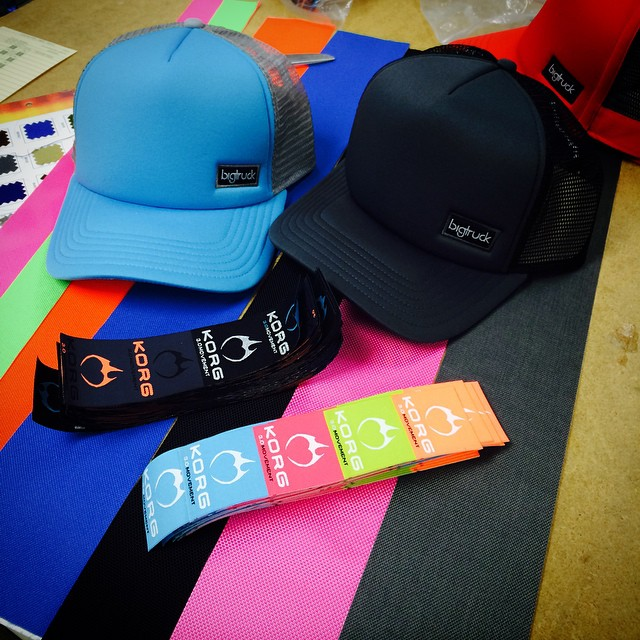 New #ChoosePositivityNow headwear designs going down @bigtruckbrand HQ!!! Stay tuned - available soon @ ChoosePositivityNow.com!!!