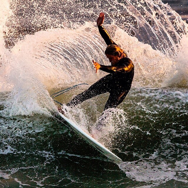 #spray  Chris on AWESOME @tirebasura photo by @saltybreezeart #awesome #awesomesurfboards