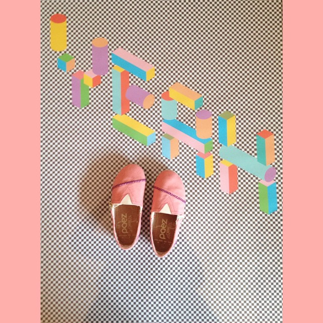 Think Pink! #Paezshoes So Happy Classic's from our Mini Collection.