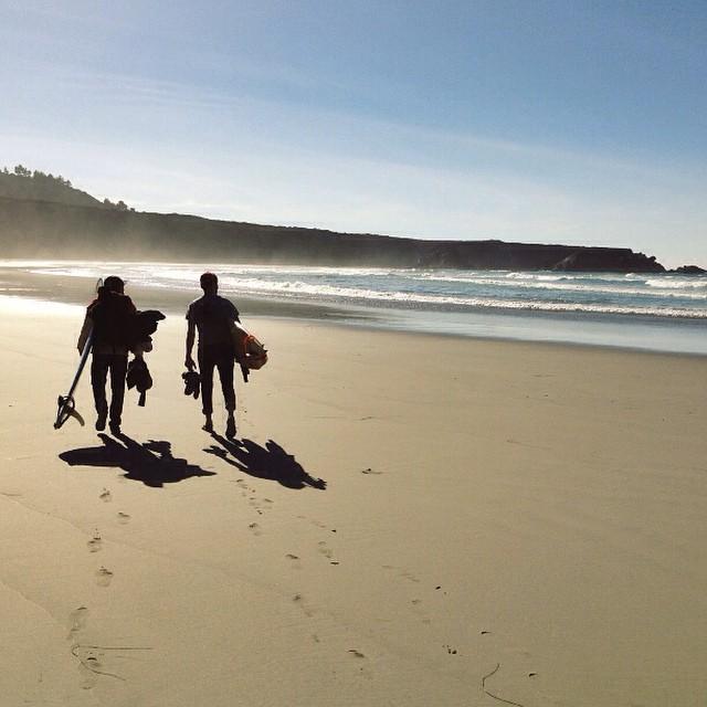 Early Bird gets the worm #surfing #dawnpatrol #wavehunters #california #explore #goldenhour