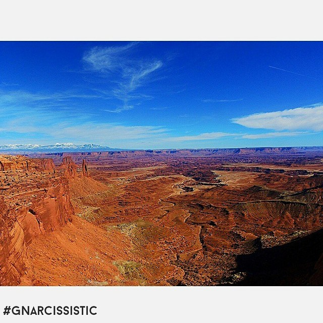 Dirtbaggin Canyonlands.  PC: @sspiltmilk  #GNARCISSISTIC #utah