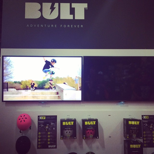 #BULThelmets at the #Interbike show in Vegas! Come check us out at booth #6017