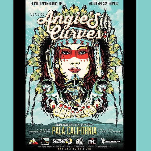 This weekend is gonna be crazy! @angiescurves #longboard #downhill #holyshittheyarefast
