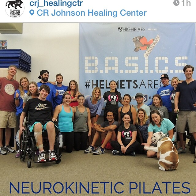 @cotapilates Has done revolutionary things for the @crj_healingctr! Thank you everyone involved with #neurokineticpilates