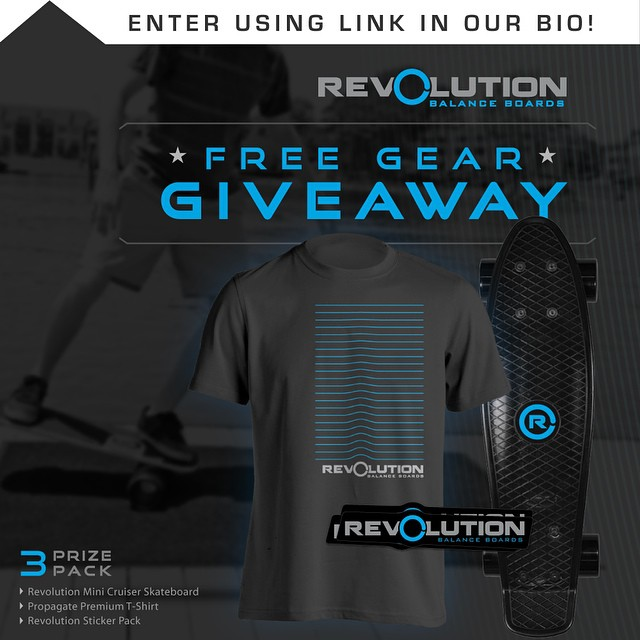 Hey everybody, we are starting up a brand new giveaway for all of our followers! We want to give back to all of our supporters, without you none of this would be possible. -------------------------------------------- Win A FREE Revolution Gear Pack •...