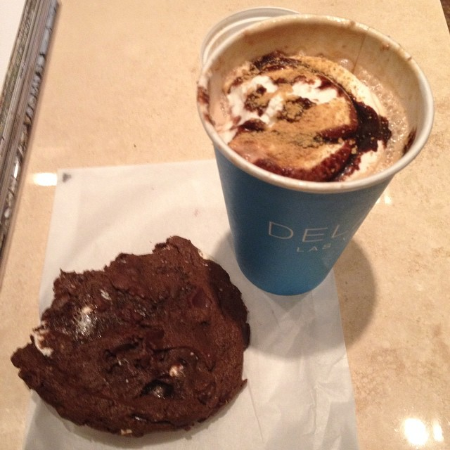 S'mores anything. That is a s'mores espresso and cookie. #s'moresforlife
