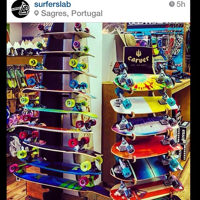 Repost @surferslab full rack available #carver just in time of the holidays. #algarve #sagres