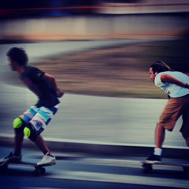 Sometimes I feel the need, ... The need for speed #carverskateboards #carver #instagood #instamoment #speed #skate #bomb