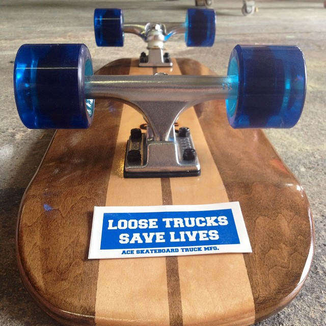 We love using @acetrucks on all our boards over here at Salemtown Board Co.  #acetrucks #LooseTrucksSaveLives #handmade #skateboards #nashville