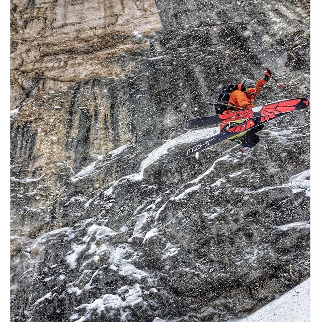 "@colterjh last February in Sella Nevea Italy with @tetongravity! The world premier is in Jackson Hole this Saturday! Who's going!? In the mean time get over to trewgear.com and pick up some fresh gear for the upcoming winter. Here Colter wears ""the..."