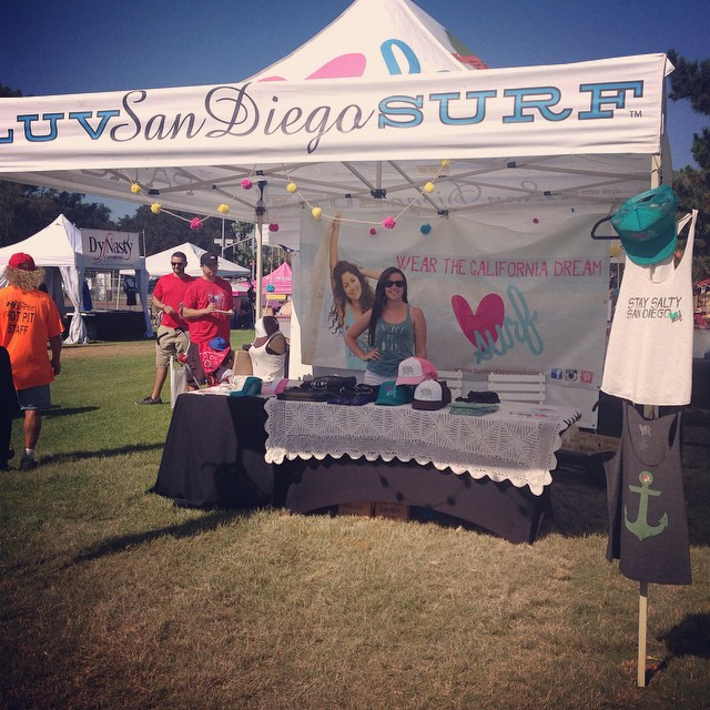 Come check out @luvsurfapparel and @luvsurfshop at Bay Fair on East Vacation Island. #bayfair #wearthecalidream #luvsurfapparel #sandiegolife