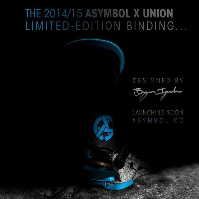 @asymbol x @unionbindingco by @bryaniguchi #allwillberevealed #soon