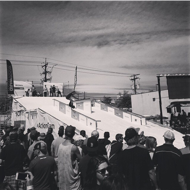 @blockfestival is so much fun! #SummerShred in the streets of #Denver . @sbcomag