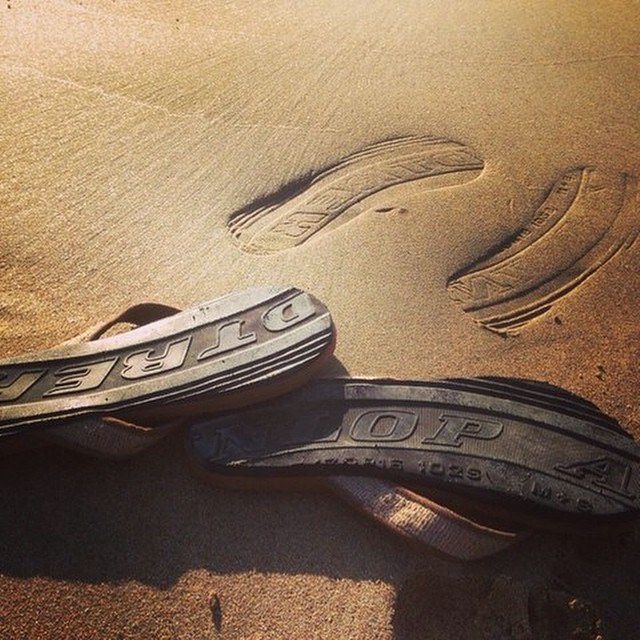 We aim to leave an impression on the places we travel. #tanburlapsandals #soleswithsoul #balifornia