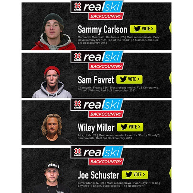 The #RealSki winner will be announced today at 5:00 pm ET on ABC.  Who will take home the title?
