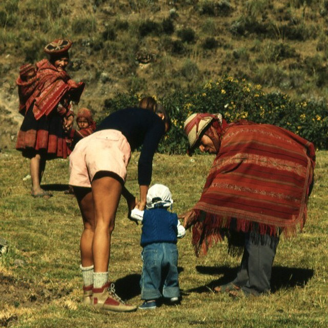 Learning to walk in Peru...where did you learn to walk?  Photo by my papa David Blehert