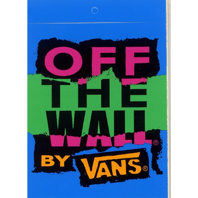 Off the Wall  Vans The original Since 1966