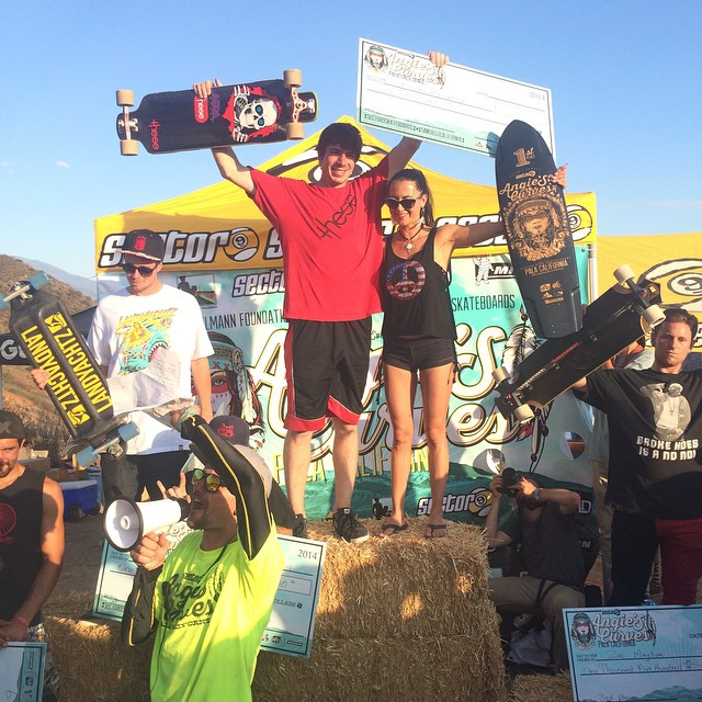 2014 #angiescurves podium 1. Kevin Reimer 2. Dillon Stephens 3. Zak Maytum