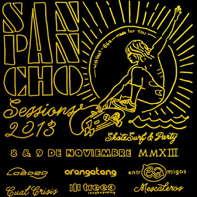 We're coming back to San Pancho this week! Come join us for some rad skating and music with @cualcrisis, #treeeskateboarding, and more! #sanpanchosessions