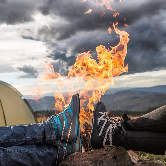 Fantastic shot of #Pakems by a #campfire by @bjornbauerphoto  #PakemsInAction #Colorado #ColoradoCompany