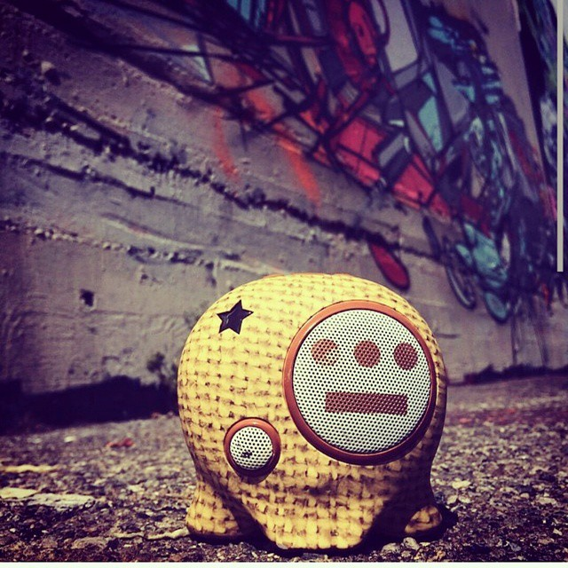 Time to get funky! #delhiero #hieroglyphics #limitededition #bluetooth #speaker #portable #wearable #boombotix