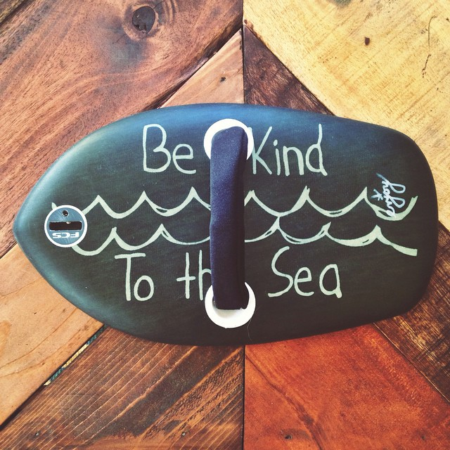 Be Kind to the Sea