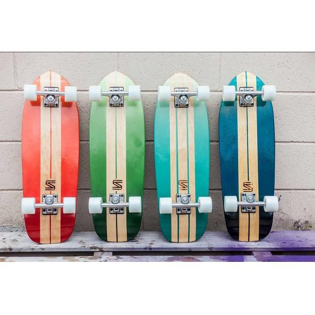 Up your cruiser game. Go grab one over on the site. #handmadeskateboard #nashville #skatetheedges