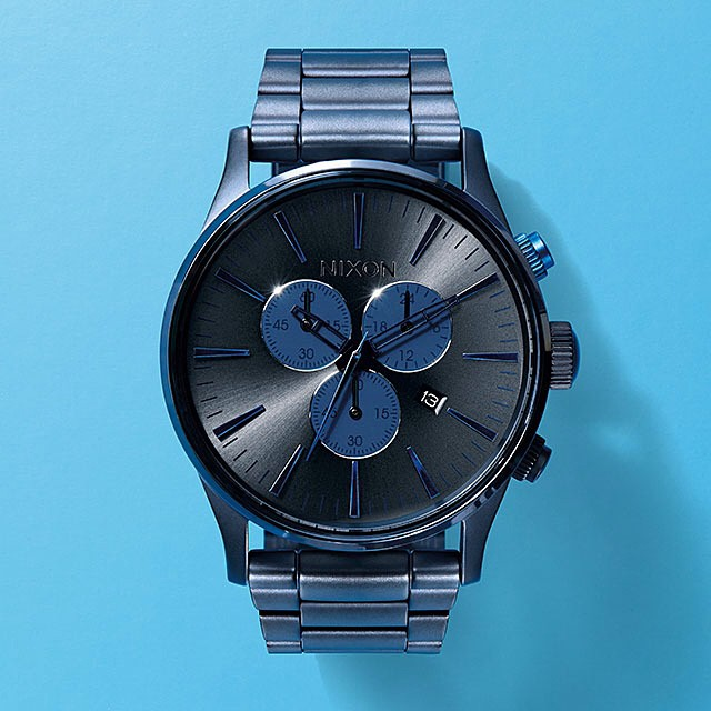 Time waits for no one.  The Sentry Chrono, now available from Nixon. #thesentrychrono #nixon