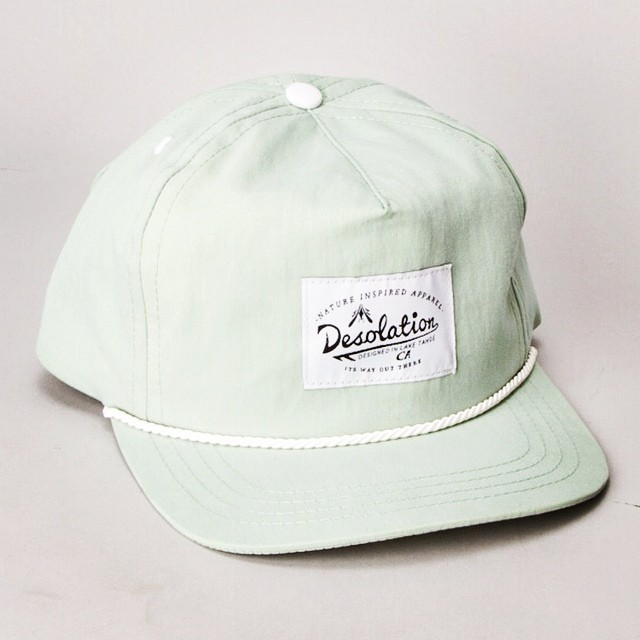 The Deso Cap in sage // #desolation #itswayoutthere
