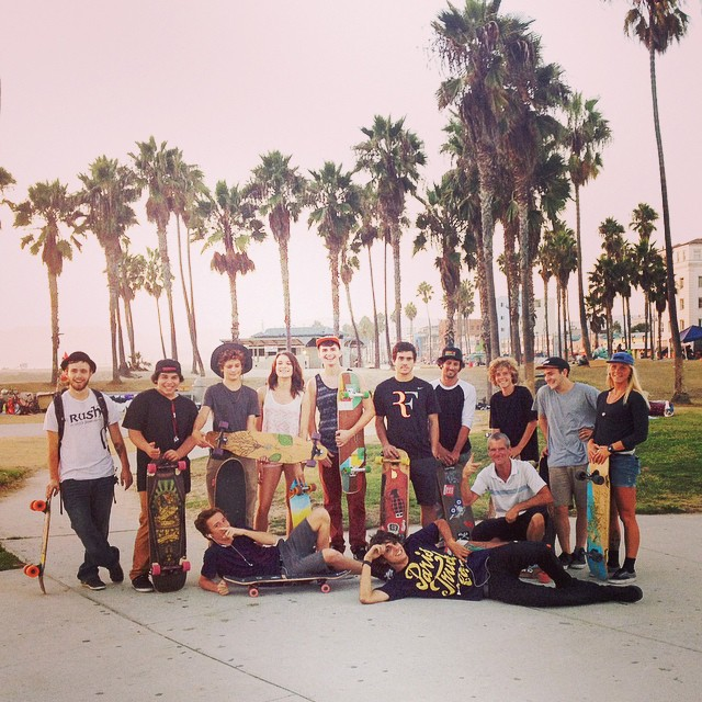Our final #PierToPierSkate during the @santamonicapier #TwilightConcerts this summer. Huge thanks to everyone who came out to skate with us, hung out at our booth on the pier, and worked on their detective skills with our weekly #LOADEDHUNT!...