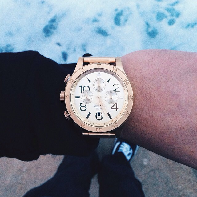 The 48-20 Chrono, tagged #nixon by @shortyboyy_.  Have you tagged your Nixon yet? #4820chrono #nixon