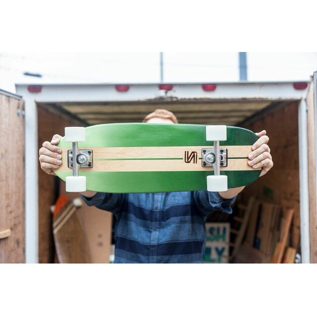 Head over to salemtownboardco.com and pick yourself up one of these campus cruisers. #handmade #skateboards #handmadeskateboards #nashville #skatetheedges