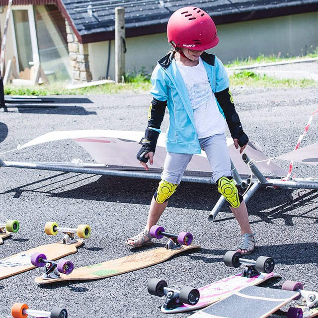 This year's skate school/clinic at #PeyragudesNeverDies brought smiles to many a young child's face, and we're stoked we could help make it happen! #pnd2014 #loadedboards #orangatang